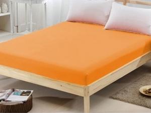 Husa de pat portocaliu